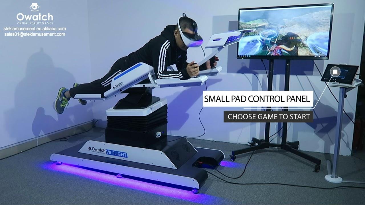 cfc5be95dbcd Owatch 2018 Virtual Reality (VR) Flight Simulator