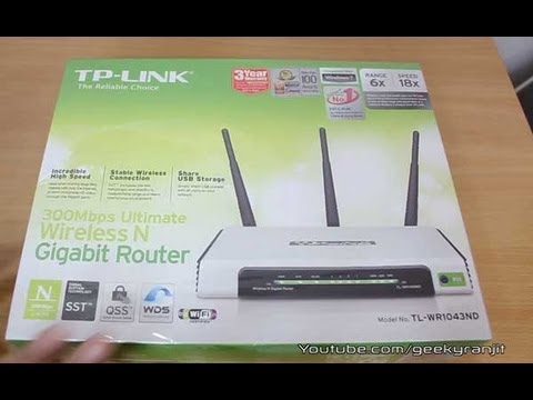 Tp link wr1043nd wifi router indepth review youtube greentooth Images