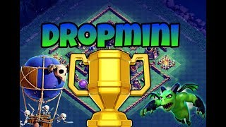 Drop Ship minions Strategy! Builder Hall 7 on FAMOUS TOP BASES!!Clash of clans!!