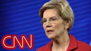 Elizabeth Warren shares emotional personal story