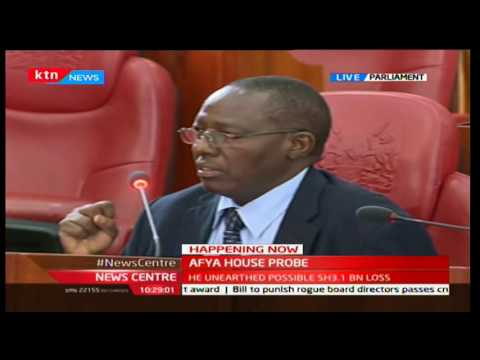 AFYA HOUSE SCANDAL: Auditor Muchere exposes shady deals at Ministry of Health