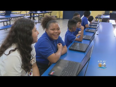 40 Laptops Donated To Miami Charter Mater Academy of International Studies