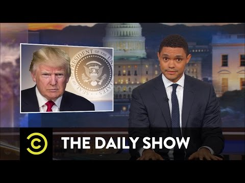 Thumbnail: So Much News, So Little Time - Protester Attacks & Trump-Russia Bombshells: The Daily Show