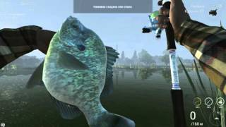 Fishing Planet. Уникальный Красноухий Солнечник  Калифорния