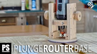 Repeat youtube video Plunge Router Base