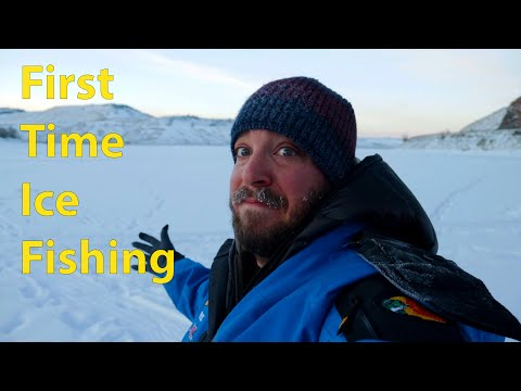 First Time Ice Fishing!! Blue Mesa Reservoir
