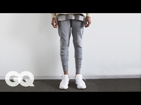 6 New Rules of Tailored Sweatpants– Style and How-to | GQ