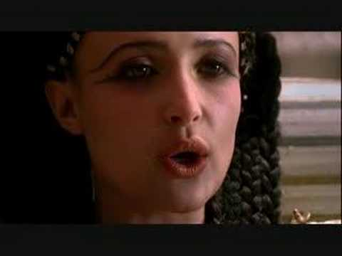 """Cleopatra and Octavian Meet in """"Rome"""""""