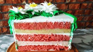 Торт Бабл Гам Рецепт популярного клубнично бананового торта
