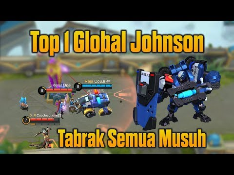 TABRAK !!! Top 1 Global Johnson Patroli Keliling Maps Mencyduk Musuh