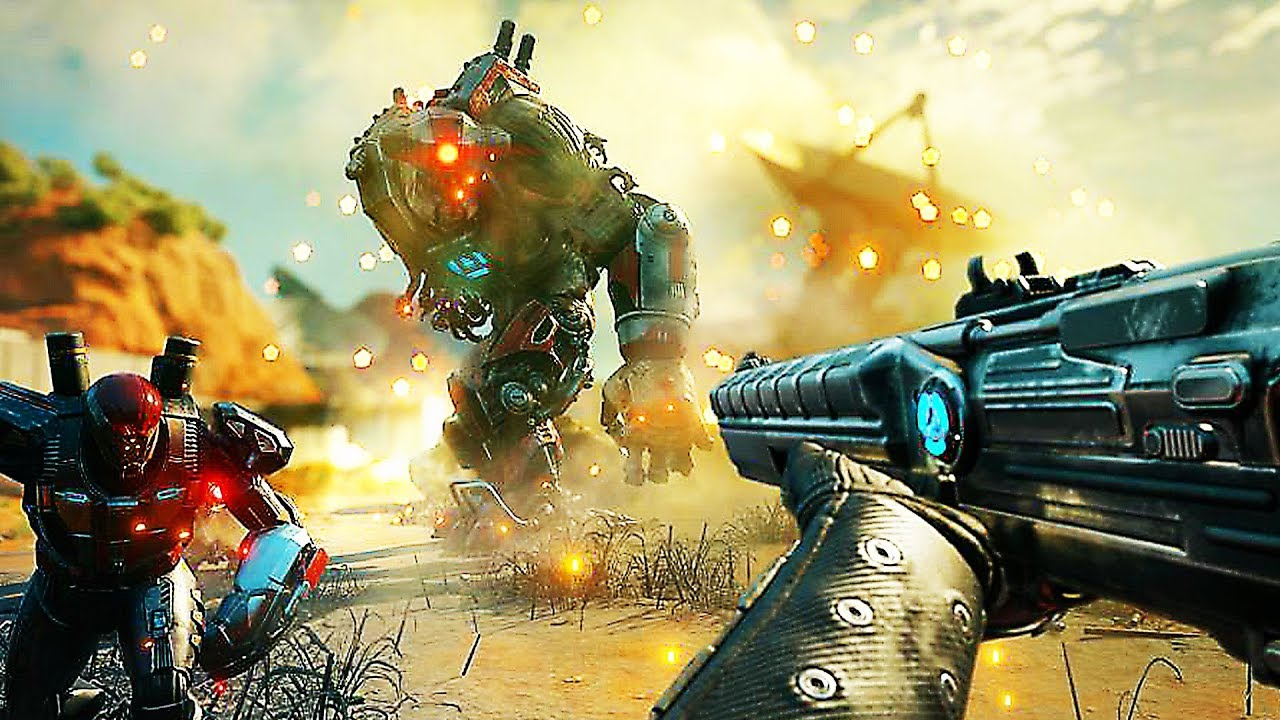"""RAGE 2 """"Weapons and Abilities"""" Gameplay (2019) PS4 / Xbox One / PC ..."""