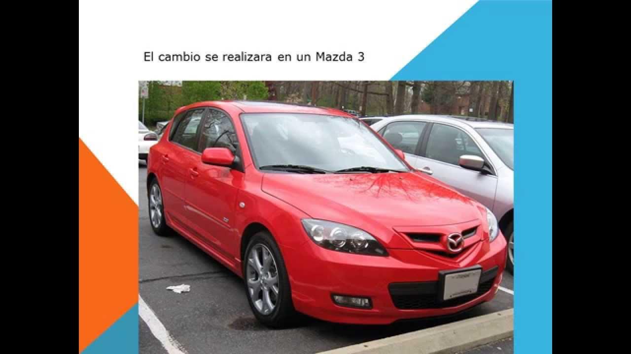 Mazda 3 como cambiar filtro habitaculo filtro aire acondicionado youtube