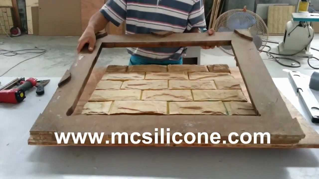 Mc Silicone Artificial Stone Mold Making Way Youtube