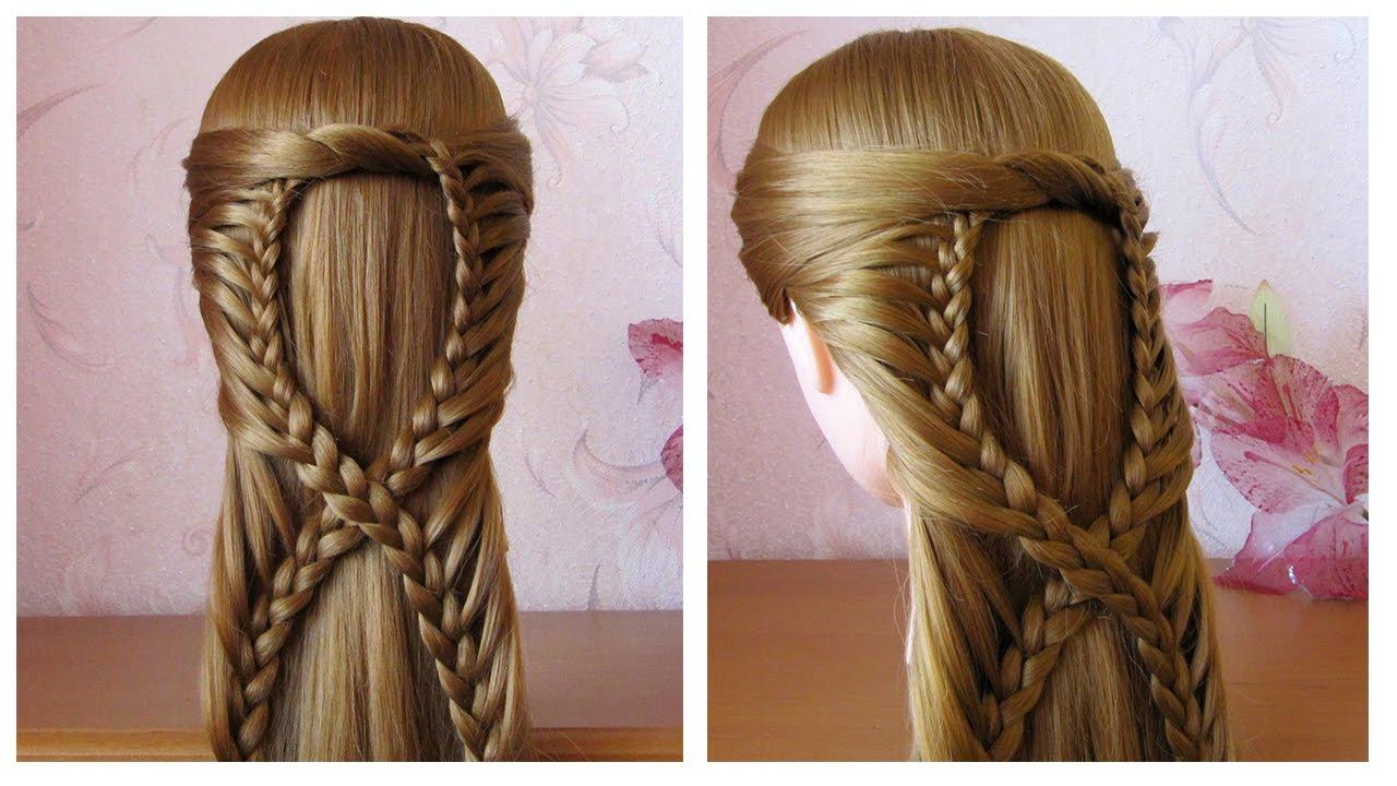 Сoiffure Simple Pour Tous Les Jours Cheveux Mi Long/long 🌸 Coiffure Pour Fille, Facile à Faire