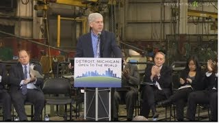 Governor Snyder Announces Immigration Proposal in Detroit