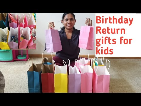 Return Gifts For Birthday Partyreturn Gift Ideas Aarush First Bday Return Gifts
