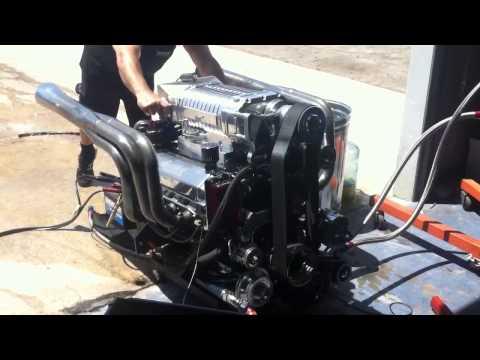 High Performance Marine Engines. Crazy Alexi running Big Horsepower on the floor!