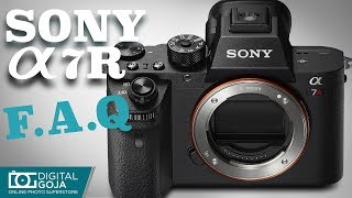 Best Video Tutorial for Sony Alpha A7R II Mirrorless Camera