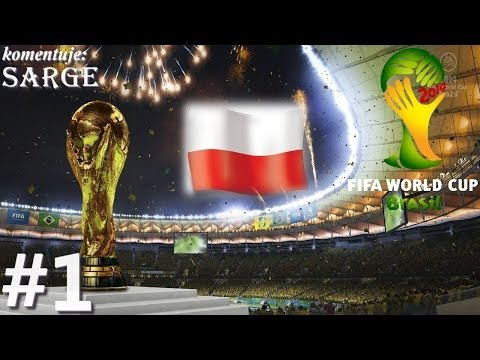 2014 FIFA World Cup Brazil (PS3 gameplay 1/12) - Reprezentacja Polski