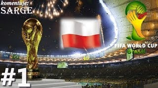 2014 FIFA World Cup Brazil (PS3 gameplay 1/12) - Reprezentacja Polski