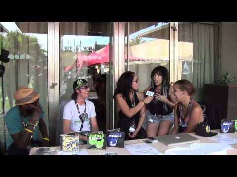 Lucky Life TV interviews Spyda Brown and The Play Deep Crew at Ibiza IMS 2011