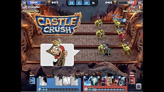 New High - 6,500 Trophies! Castle Crush #86 gameplay walkthrough
