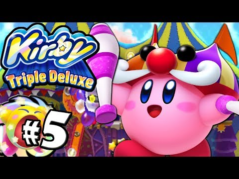 Kirby Triple Deluxe: Spooky Ghost Circus Copy World 2 PART 5 Nintendo 3DS Gameplay Walkthrough