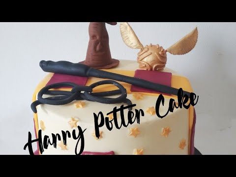 Harry Portter  6 Inch Tall Cake