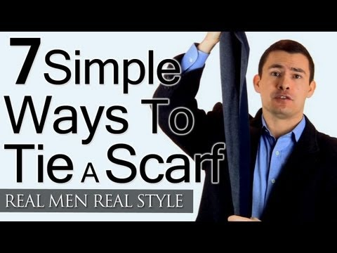 Mans Guide To Tying Scarf