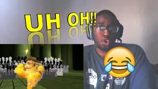 The Mario Channel MARIO'S CHALLENGE! REACTION!!!