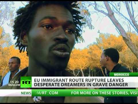 Less precious than birds? Europe fences off African immigrants