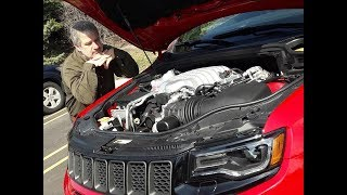 JEEP GRAND CHEROKEE TRACKHAWK V8 707 HP. RENAULT SPORT. AUTO AL DÍA 27.4.19