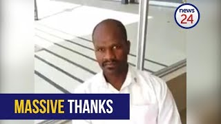 WATCH: Security guard reunites owner with lost R2000