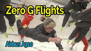 Zero G Flight - Experience weightlessness on board NoveSpace