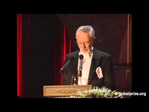 J. M. Coetzee, Literature Laureate 2003, remembers his parents in his speech