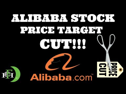ALIBABA (BABA) STOCK PRICE TARGET GETS CUT!!!! TIME TO SELL??