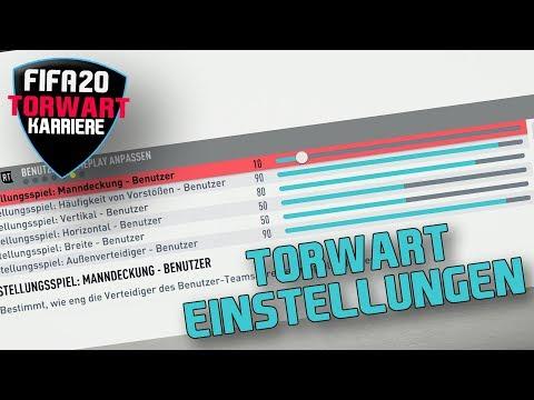 DIE PERFEKTEN EINSTELLUNGEN !! 😀 FIFA 20 Torwart Spielerkarriere Einstellungs Tutorial