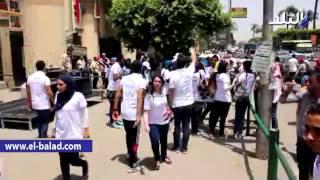 بالفيديو والصور.. جامعة عين شمس تحتفل بقناة السويس بعرض التنورة أمام قصر الزعفران