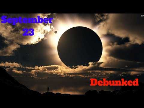 What You Need to Know About Debunking September 23 (9/21/2017)