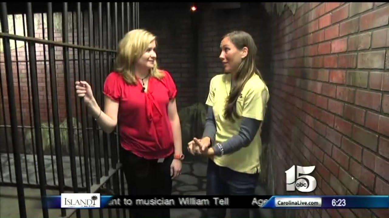 Amanda Live At Ripley S Haunted Asylum Good Morning Carolinas You