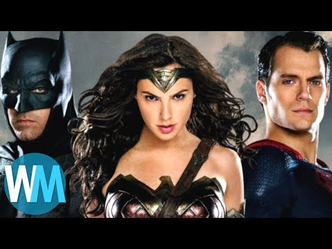 Top 10 Members of The Justice League