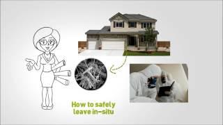 whiteboard animation asbestos test