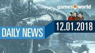 Dark Souls Remastered, Monster Hunter, Overwatch | Gamesworld Daily News - 12.01.2018