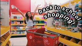 BACK TO SCHOOL SUPPLIES SHOPPING 2019!