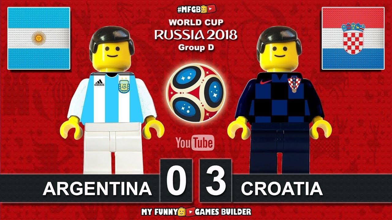 Download Argentina vs Croatia 0-3 • World Cup 2018 (21/06/2018) All Goals Highlights Lego Football