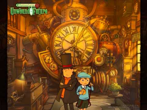 Professor Layton and the Unwound Future/Lost Future OST -  More London Streets [LIVE]