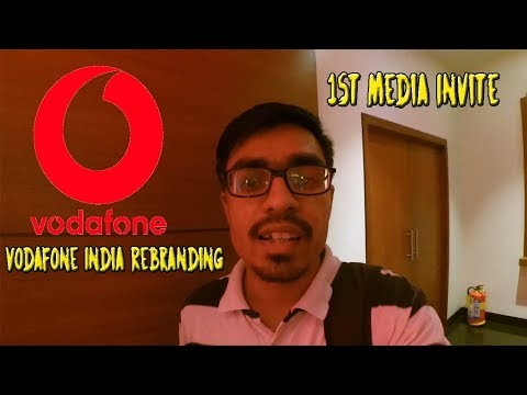1st Media Invite Vodafone India Rebranding 🔥 Future is Exciting, are you Ready😱 ???