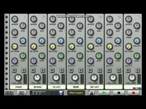 (Caustic Cookup) Making a Hip Hop/ Rap beat in Caustic !!!