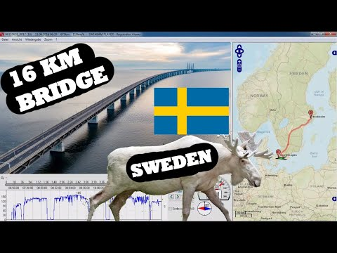 Most interesting Routes - from Stockholm (S) to Copenhagen (DK) - HD