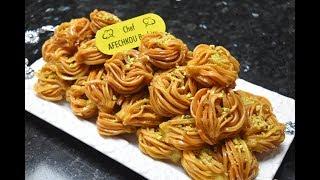 الشباكية الشعرة بنكهة جديدة هشيشة ولذيذة ومعسلة - وصفات رمضان 2019